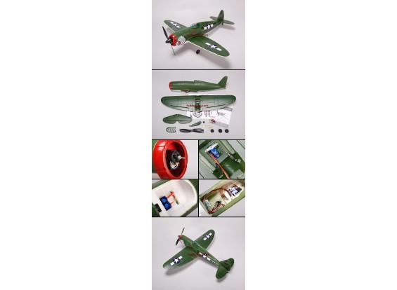 P-47 Thunder gevechtsvliegtuig EPO Plug-n-Fly