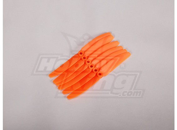 GWS Style Propeller 4.5x3 Orange (CCW) (6 stuks)