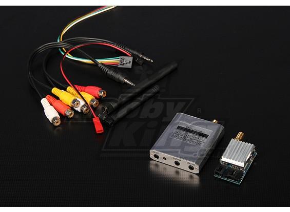 5.8GHz 200mW 8-kanaals FPV Video Tx / Rx Module