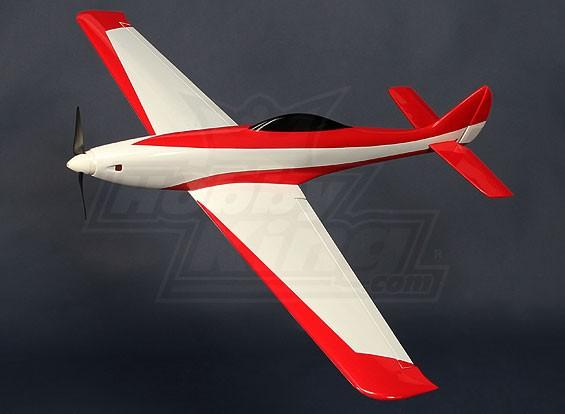 Elektrische Glasvezel Pylon Racer 930mm Rood (ARF)