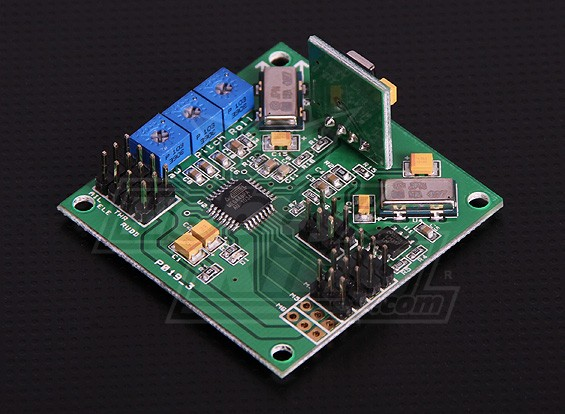 HobbyKing Quadcopter Control Board