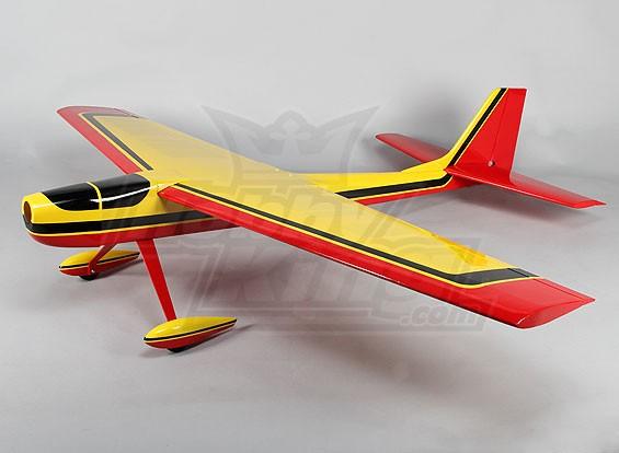 Racer Cat 60 Balsa 1600mm Glow (Geel) (ARF)