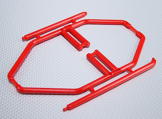 10/01 Roll Cage (Rood)