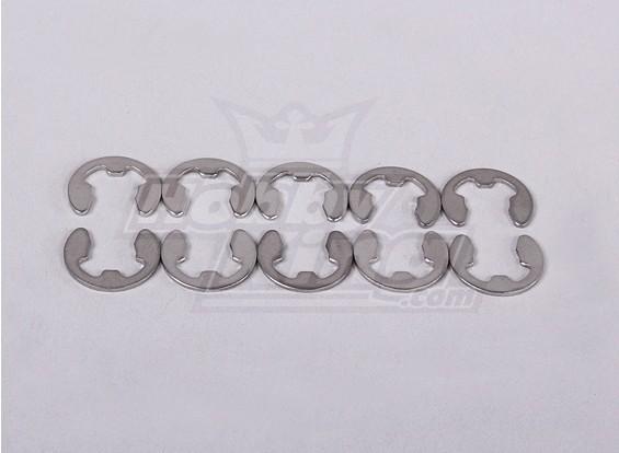 E-Ring 7mm - Baja 260 en 260s (10st / Bag)