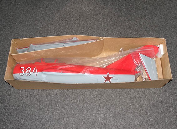 KRAS / DENT Mig-15 Glasvezel 90mm EDF Jet, 1127mm (ARF)