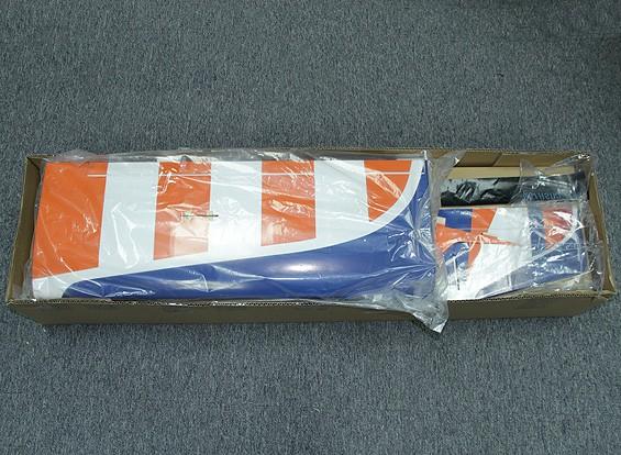 KRAS / DENT Maestro 46, Traditionele Low Wing Sport Model, Balsa EP / IC 1440mm (ARF)