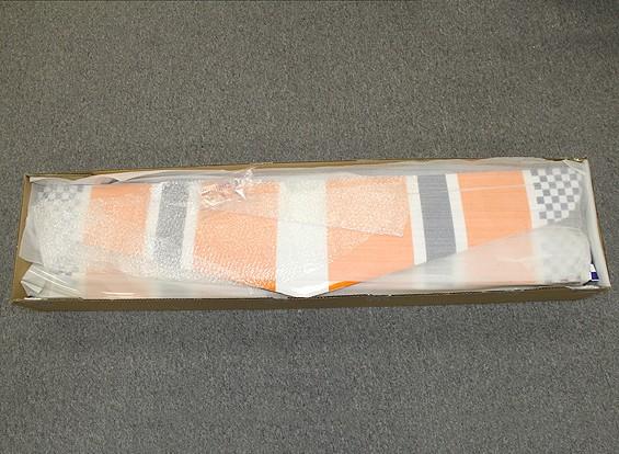 Kras / DENT - HobbyKing Mellizo 50e Acrobatische tweedekker Balsa / Ply 1480mm (ARF)
