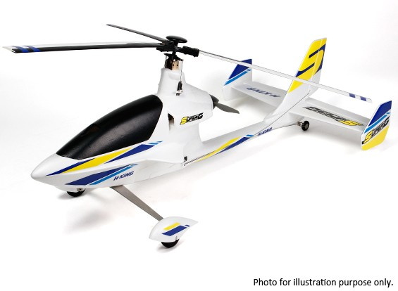 Kras / DENT - HobbyKing ™ Super-G Autogiro EPO 1080mm (PNF)