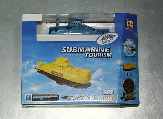 Kras / DENT - Miniatuur 6CH RC Submarine (40MHz)