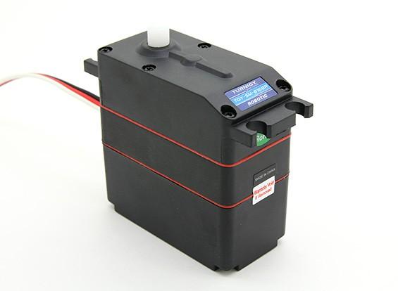 Kras / DENT - Turnigy TGY-SM-8168R 360 ° Analoog Robot Servo 18kg / 67RPM / 125g