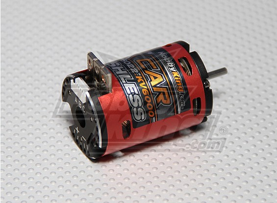 HobbyKing X-Car 5.5 Turn Sensored borstelloze motor 6000Kv