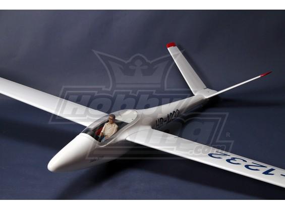 H101 Salto 2.45m Schaal Glider Kit w / UltraDetail Pilot en Cockpit