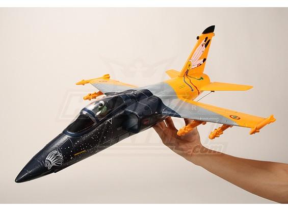 alleen Mini AMX EDF Fighter Jet ARF Kit (EPO)