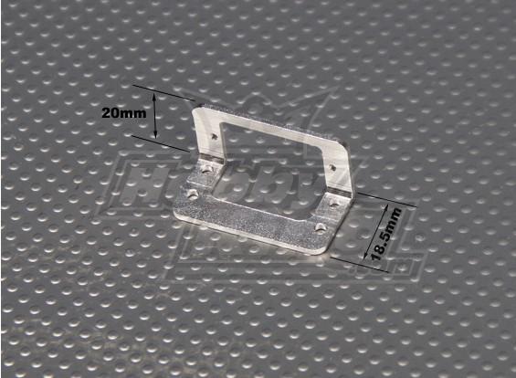 Aluminium Montagebeugel voor 9g servo's (1 st)