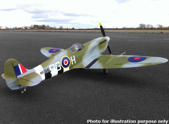 Supermarine Spitfire Mk IX samengestelde 50cc Gas 2250mm (ARF)