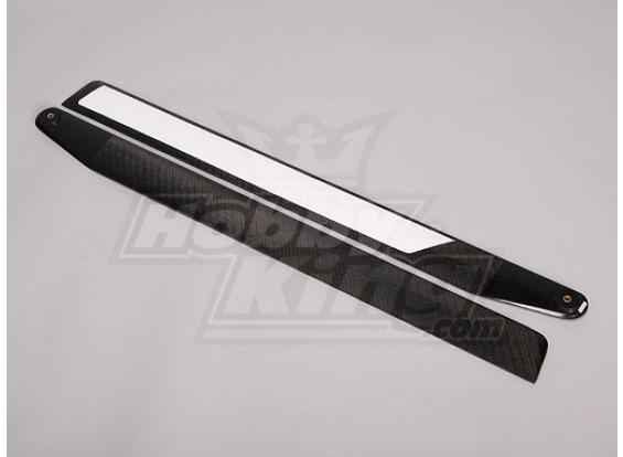 690mm TIG Carbon Fiber Z-Weave Main Blades