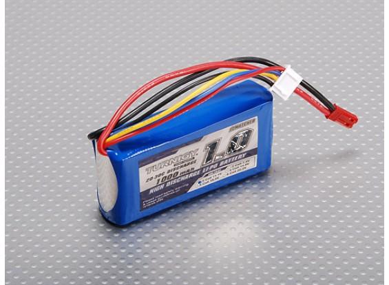 Pack Turnigy 1000mAh 3S 20C Lipo