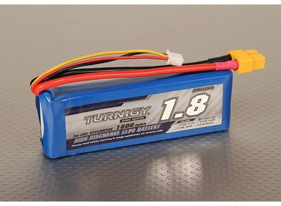Pack Turnigy 1800mAh 2S 30C Lipo