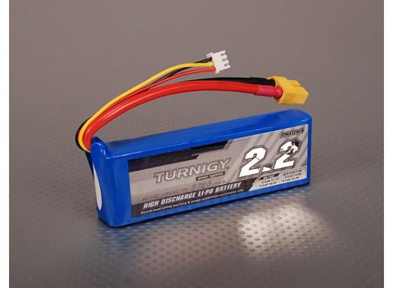 Pack Turnigy 2200mAh 2S 40C Lipo