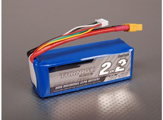 Pack Turnigy 2200mAh 4S 40C Lipo