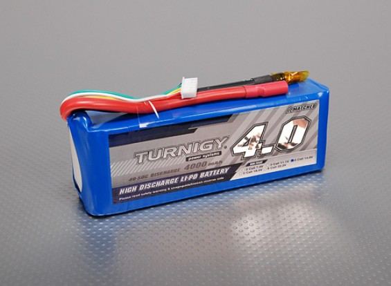 Pack Turnigy 4000mAh 4S 40C Lipo