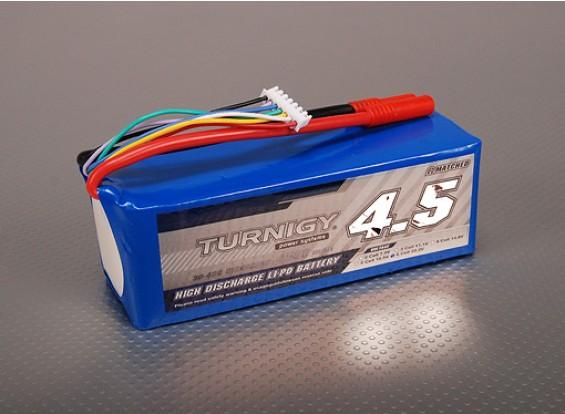 Pack Turnigy 4500mAh 6S 30C Lipo