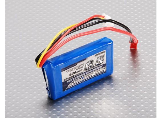 Pack Turnigy 500mAh 2S 20C Lipo