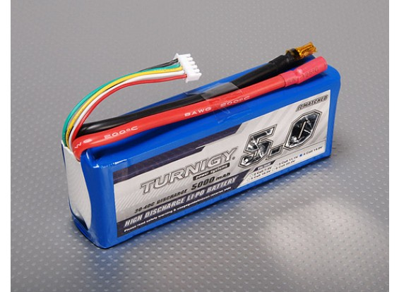Pack Turnigy 5000mAh 4S 30C Lipo