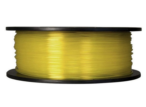 CoLiDo 3D-printer Filament 1.75mm PLA 1KG Spool (doorschijnend geel)