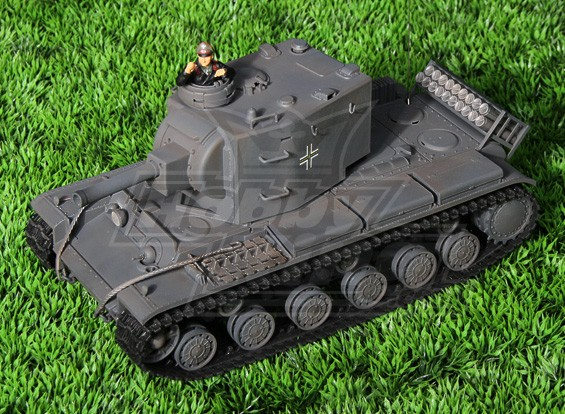 Pz.754 (r) Infrarood RC Battle Tank - German Grey (RTR)