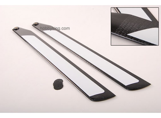 550mm TIG Carbon Fiber Z-Weave Main Blades