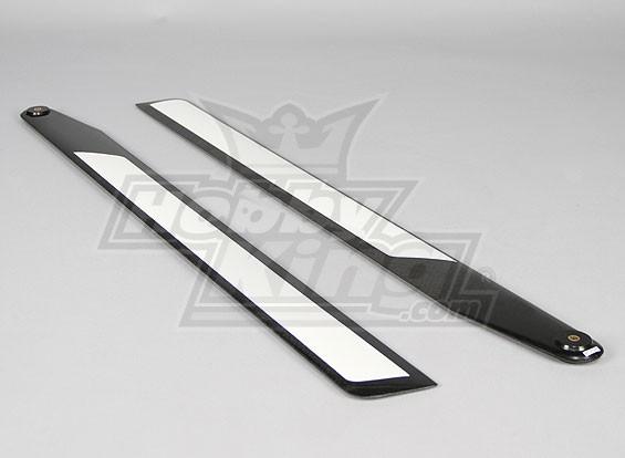 715mm TIG Carbon Fiber Z-Weave Main Blades