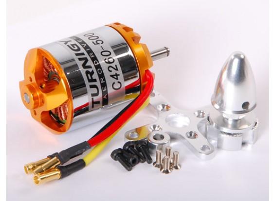 TR 42-60C 500KV borstelloze Outrunner