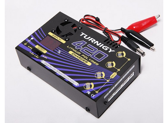 Turnigy 420 36W Balance Charger 2 tot 4S