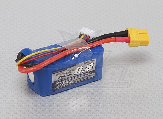 Pack Turnigy 800mAh 3S 35C Lipo