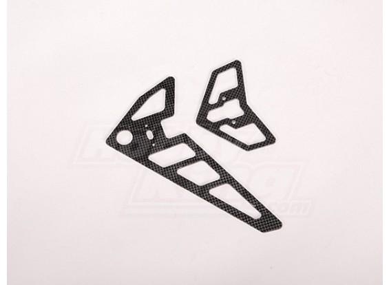 TZ-V2 0,90 Size Carbon Fiber Tail Fin