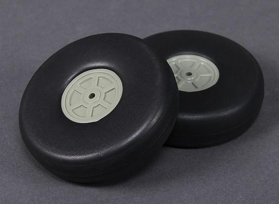 Lichtgewicht Schaal wiel 90mm (2pc)