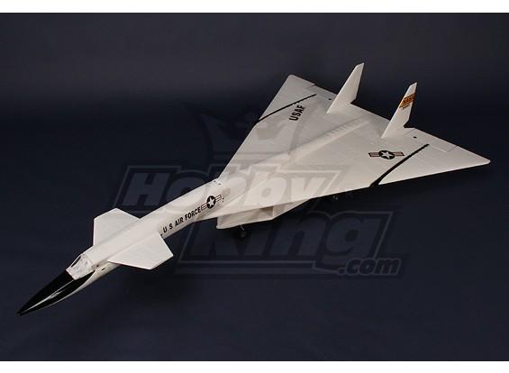XB-70 Valkyrie Supersonische Jet 70mm EDF Plug-n-Fly