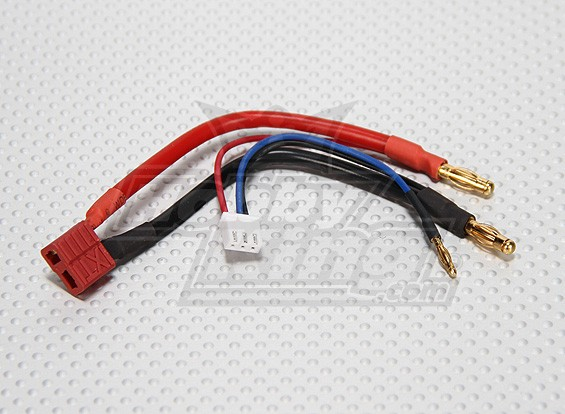 T-Connector Plug harnas 2S Hardcase Lipo (1 st)
