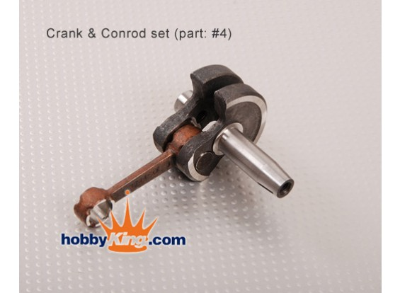 XY Motor Conrod en Crank Shaft set (26cc)