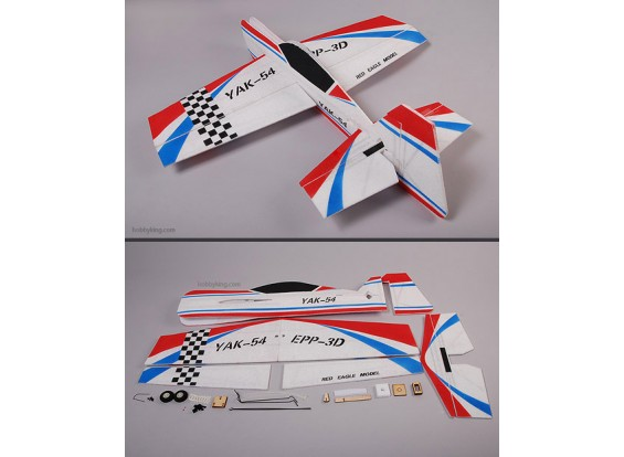 YAK54 EPP 3D Air Plane Model Unbreakable