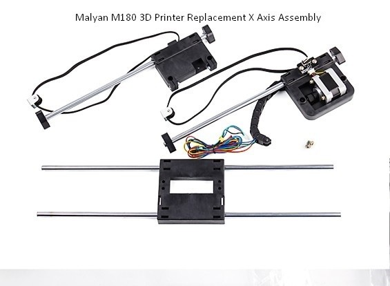 Malyan M180 3D Printer Replacement X Axis Assembly