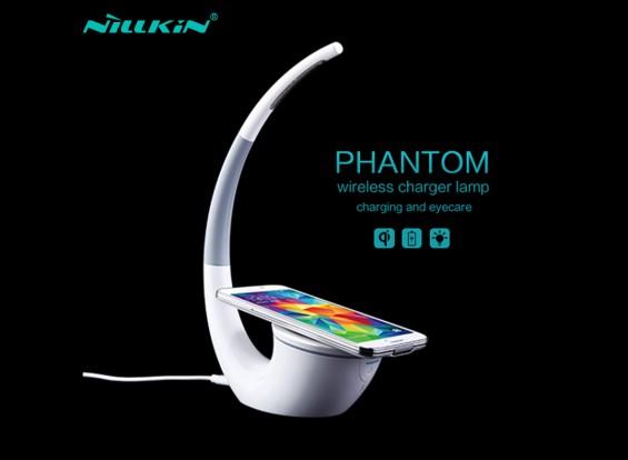 Nillkin Phantom Desk Lamp With qi Wireless Charger Adjustable Brightness