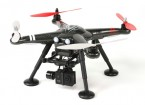 XK Detect X380-C 2,4 GHz Quad GPS-Copter Mode 1 w / HD Action Cam en 2-Axis Gimbal (RTF) EU Plug