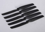 Hobbyking ™ Propeller 6x3 Black (CCW) (5 stuks)