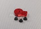 Red Aluminium Heavy Duty Servo Saver