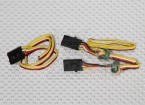 Hobbyking OSD Aansluiten Wire Set