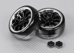 16/01 Brushless 4WD Mini Rally - Extreme Edition Drift Wheel Set