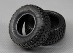 Tire 1/10 Turnigy 4WD borstelloze Short Course Truck (2 stuks / Bag)