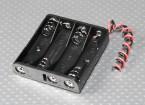 Batterij Holder 4 x 'AAA'